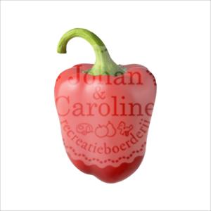Paprika rood l Johan en Caroline