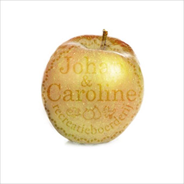 Appel Goudreinetten l Johan en Caroline