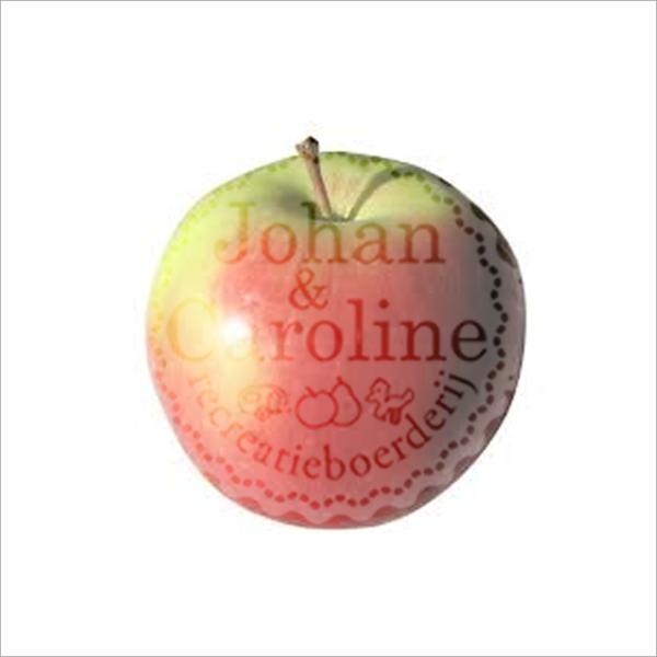 Appel Kanzi l Johan en Caroline