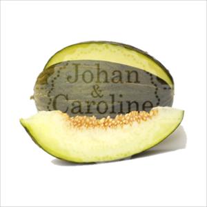 Piel de sapo meloen l Johan en Caroline