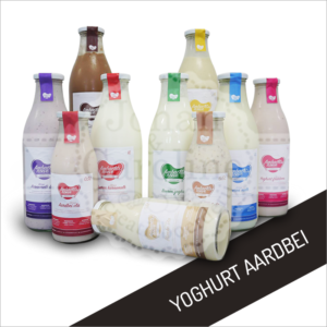 Yoghurt aardbei l Johan en Caroline