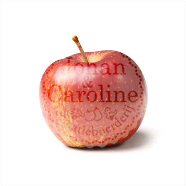 Appel Delcorf l Johan en Caroline