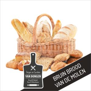 Bruin brood van de molen l Johan en Caroline