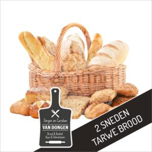 2 Sneden tarwe brood l Johan en Caroline